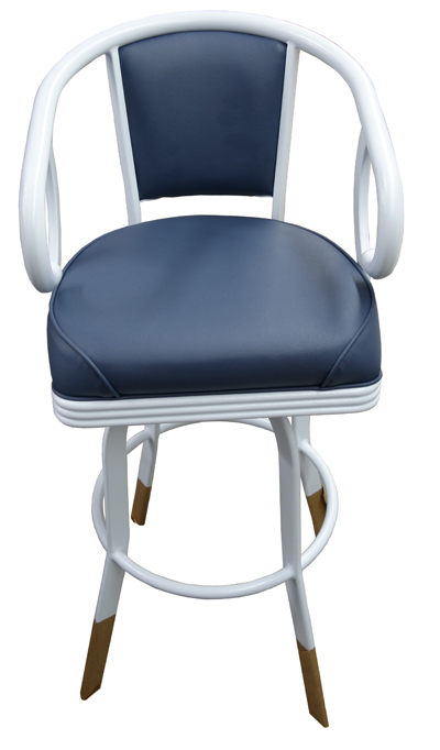 Commercial Quality Modern Swivel Bar Stool image 2