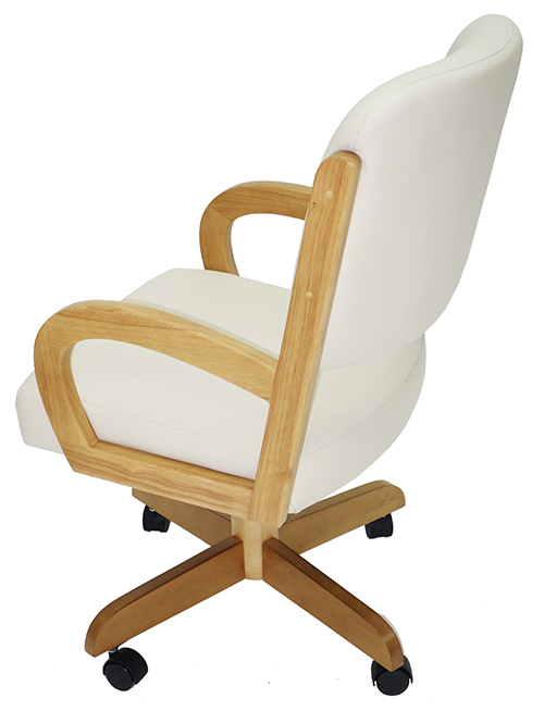 Custom Fabric Caster Chair image 2