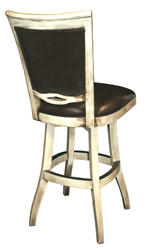 Solid Wood Swivel Counter Stool image 2