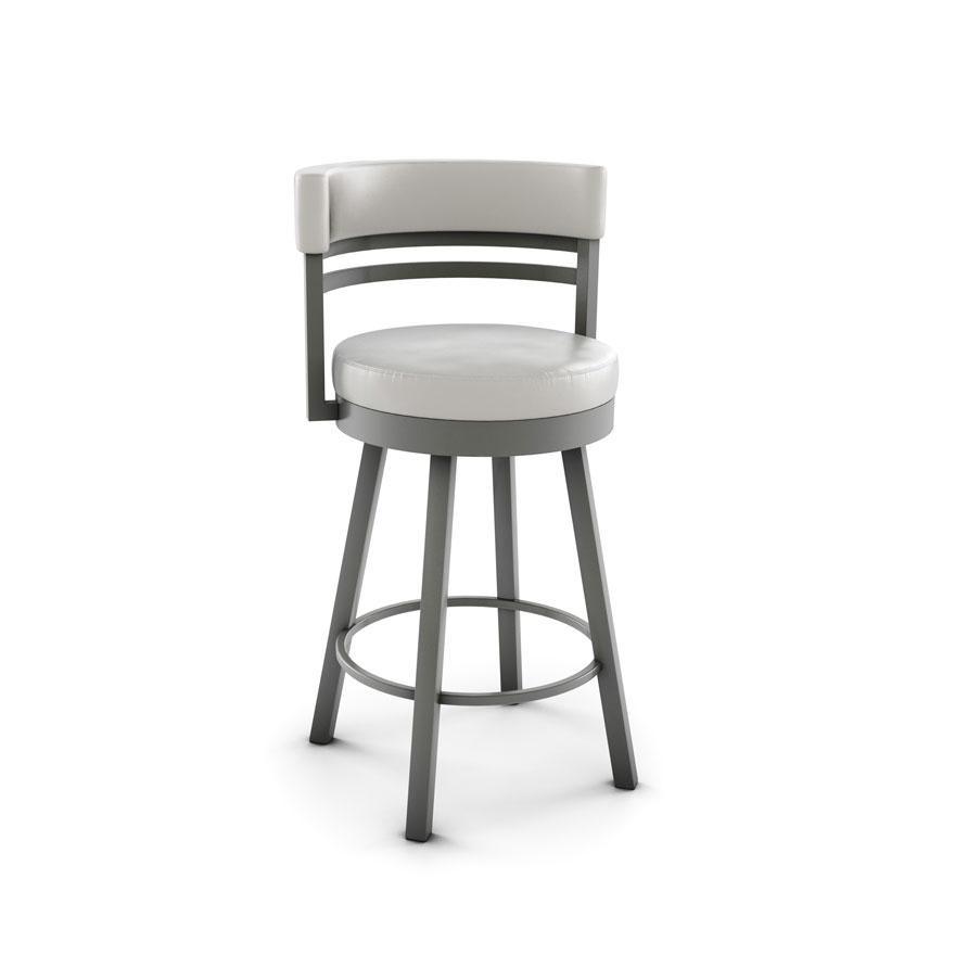 Amisco 41442 Swivel Ronny Bar Stool
