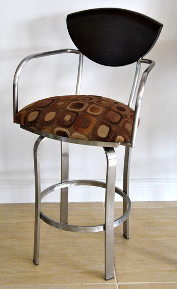 Swivel Stainless Steel Barstool