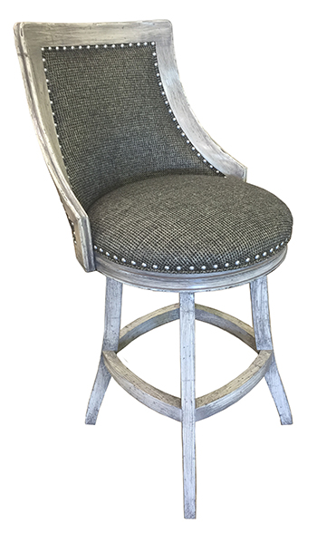 Swivel Barstool on S-Base