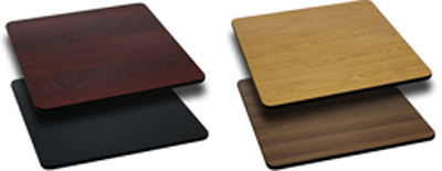 Black or Mahogany, Natural or Walnut