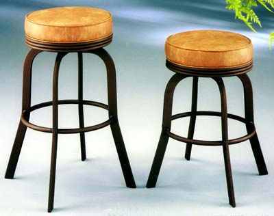 Swivel Backless Counter Stool