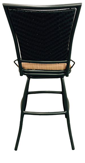 34 Inch Outdoor Aluminum BarStool image 2