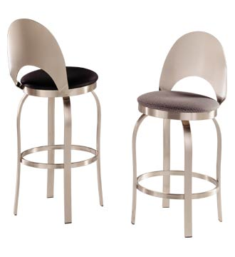 Commercial Quality Stainless Bar Stool